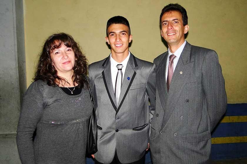 Roxana Querejazu, Sergio Dipp  y Salvador Dipp.