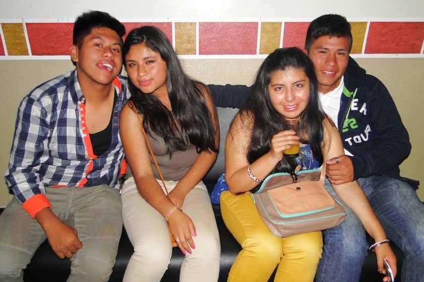 José Ponce, María Rodríguez, Mariel Villagómez y Freddy Toro.