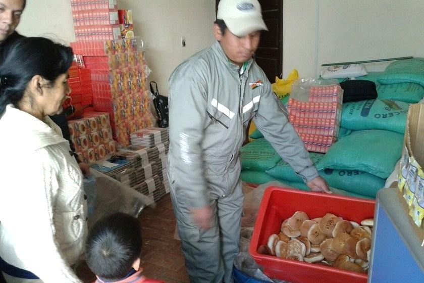 Emapa ya empezó la venta de pan en Sucre. Foto: CORREO DEL SUR