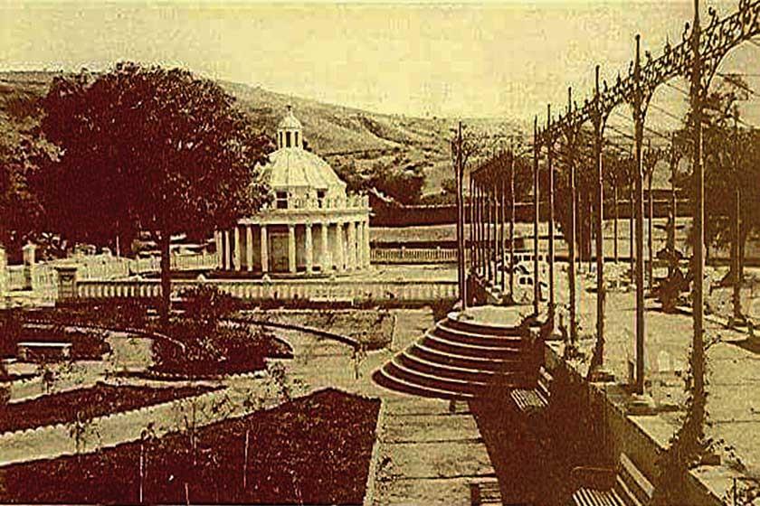 Ubicación original de La Rotonda, que cambió de lugar por orden del presidente Belzu
