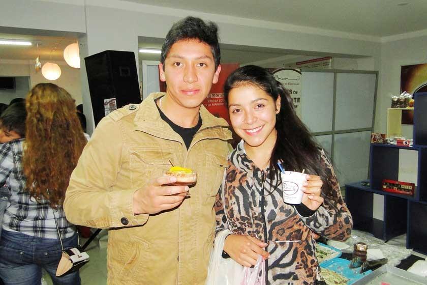 Miguel Bejarano y Karen Romano.