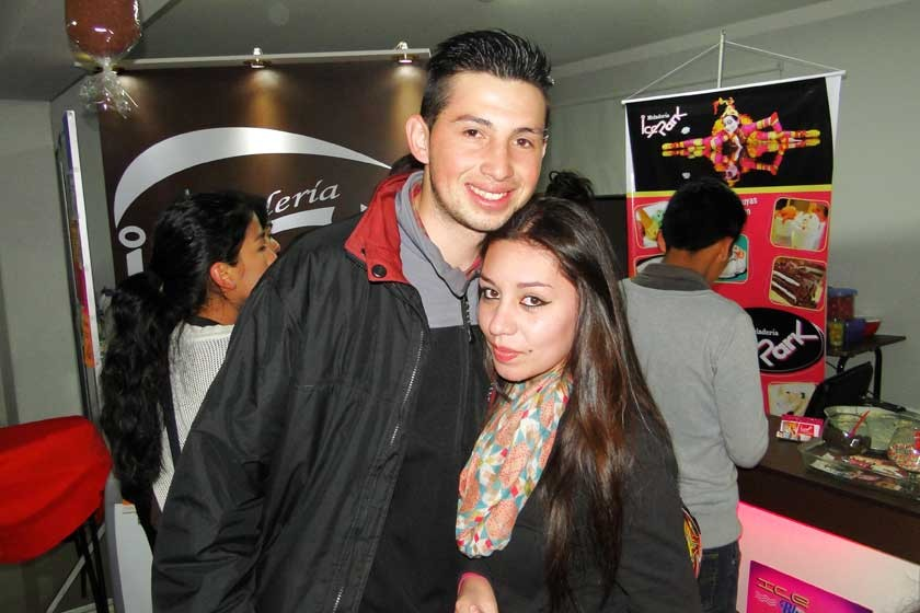 Luis Gonzales y Carolina Cardozo.