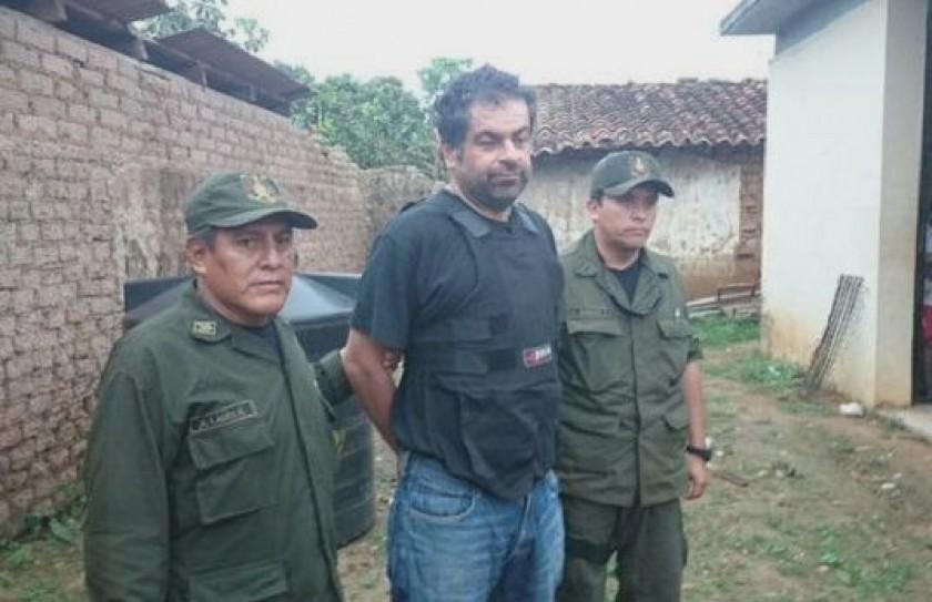Belaunde fue capturado en la población de Magdalena de Beni. Foto: Archivo