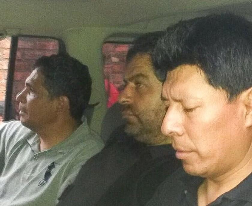 Martín Belaunde fue capturado este jueves en Beni. Foto: Gentileza