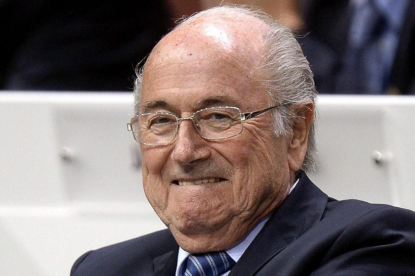 Blatter busca la reelección al frente de la FIFA. Foto: EFE