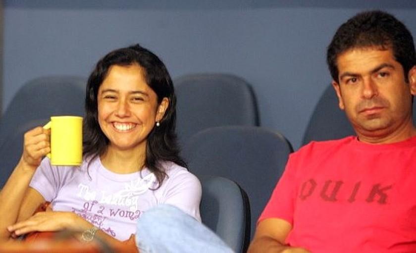 Una fotografía de archivo de Nadine Heredia y Martín Belaúnde. Foto: Internet