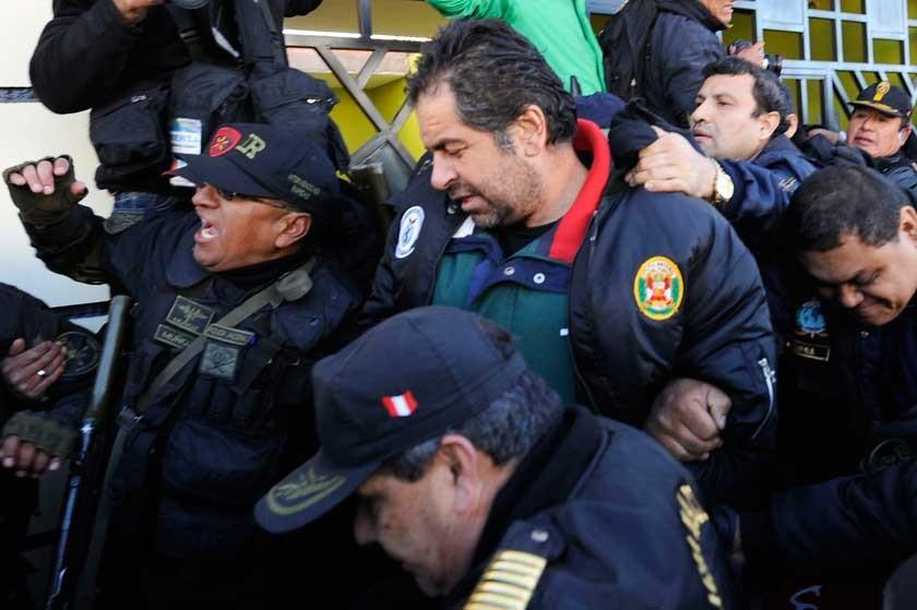 Belaunde enfrenta acusaciones desde una cárcel en Perú