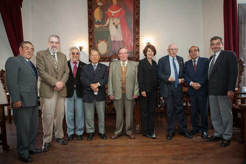 René La Fuente, José Lemaitre, Michel Huerta, Mario Gonzales, Ramiro Ramos, Virginia Kolle Casso, Gabriel Pelaez