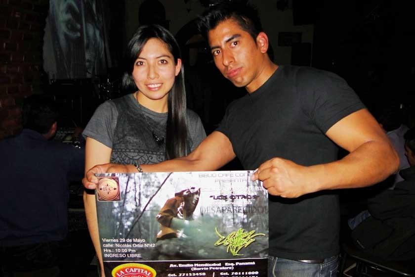 Claudia Felípez y Carlos Miranda.