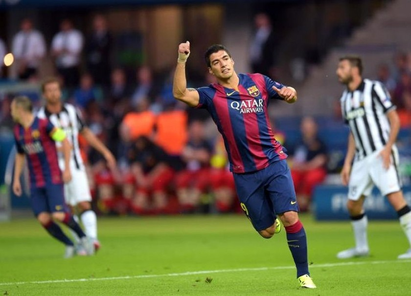 Suárez pone en ventaja al Berça. Foto: EFE