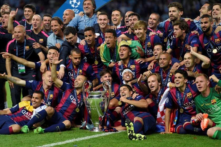 La Champions corona el año del Barcelona