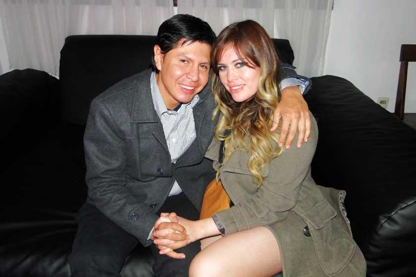 Rodrigo Dalenz y Pamela Estrada.