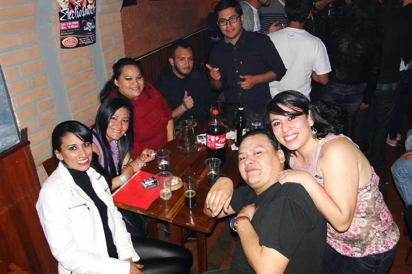 El Chuqui y sus amigos.