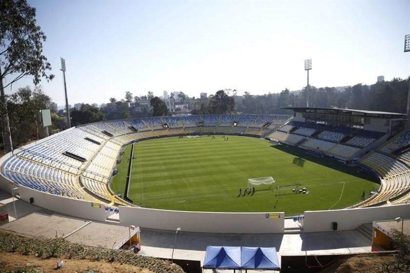 El estadio Sausalito recibe al segundo cotejo de la Copa América. Foto: EFE