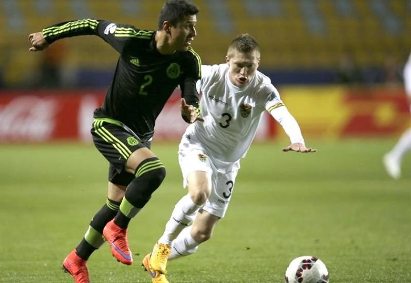 México y Bolivia empatan sin apertura del marcador en Viña del Mar. Foto: EFE