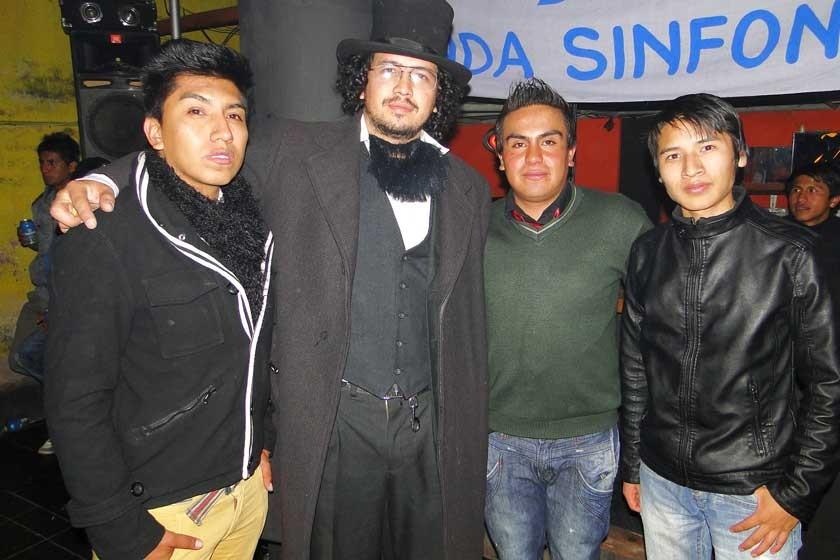 Ernany Porcel, Alejandro Aramayo, Miguel Escobar y Martín Tejerina.