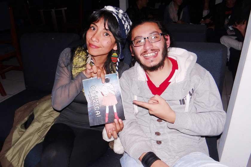 Lina Mau Cruz, y Antonio Flores.