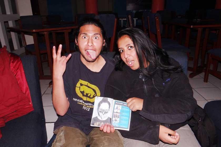 Rubén Gómez y Daniela Rivas.