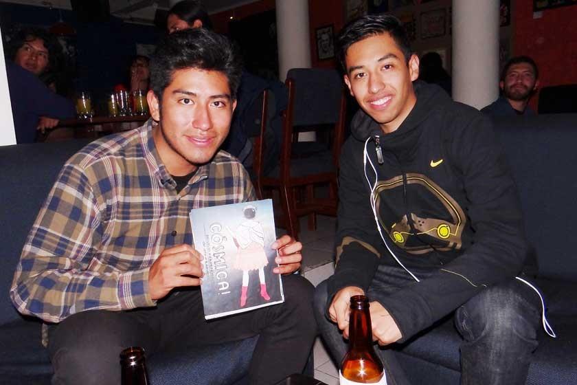 Joel Fernando Cruz y Pablo Sánchez.