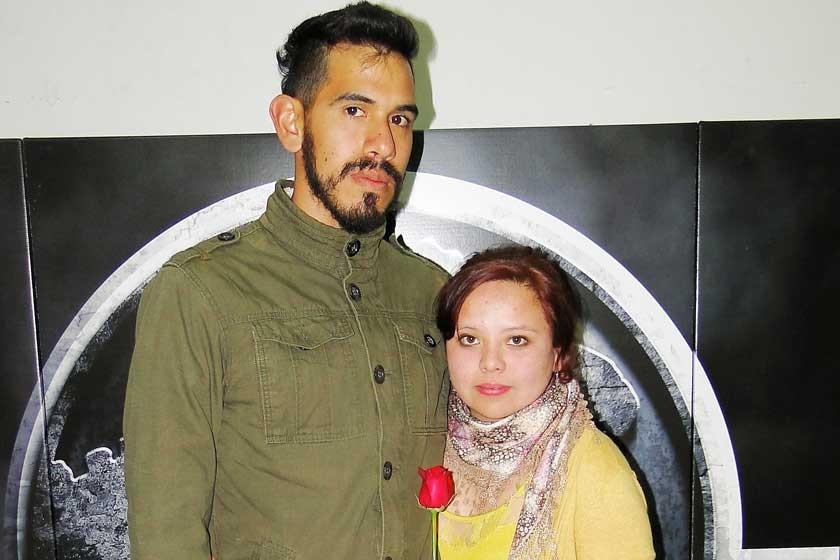 Oscar Durán y Carmen Chávez.