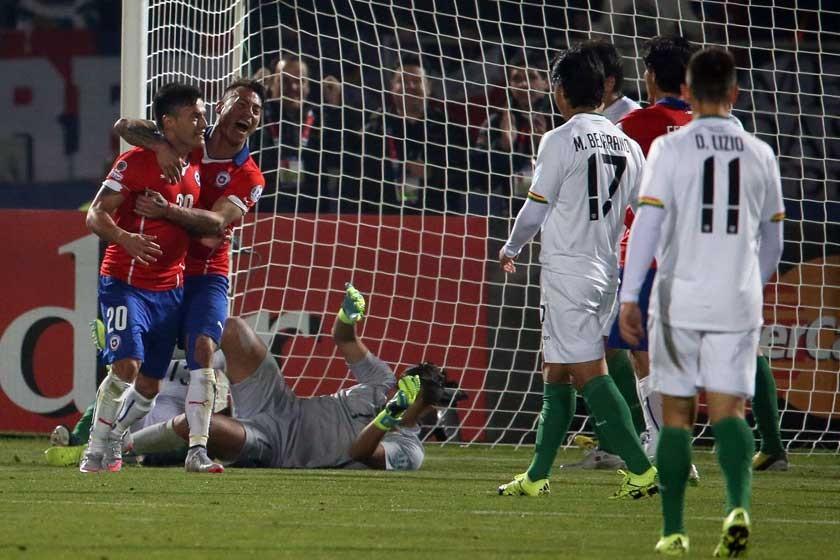 Bolivia está en cuartos tras goleada