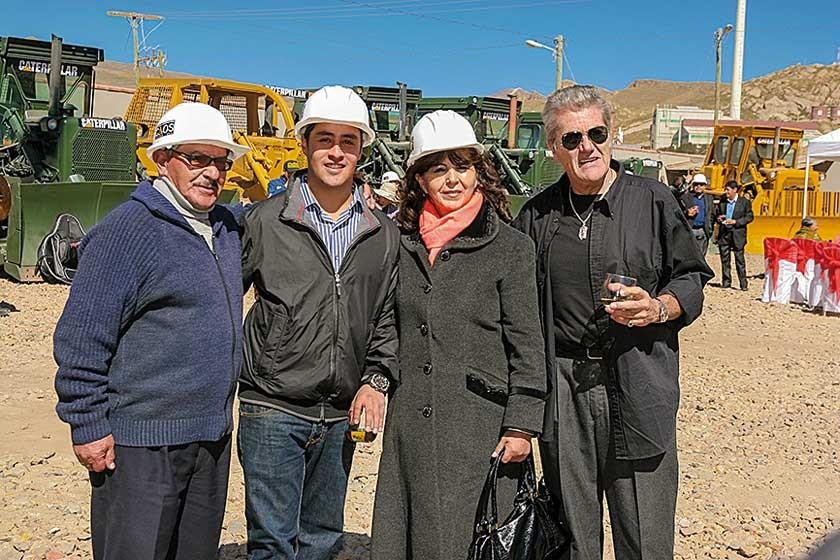 Orlando, Rodrigo, Virginia Careaga y Javier Galdo.