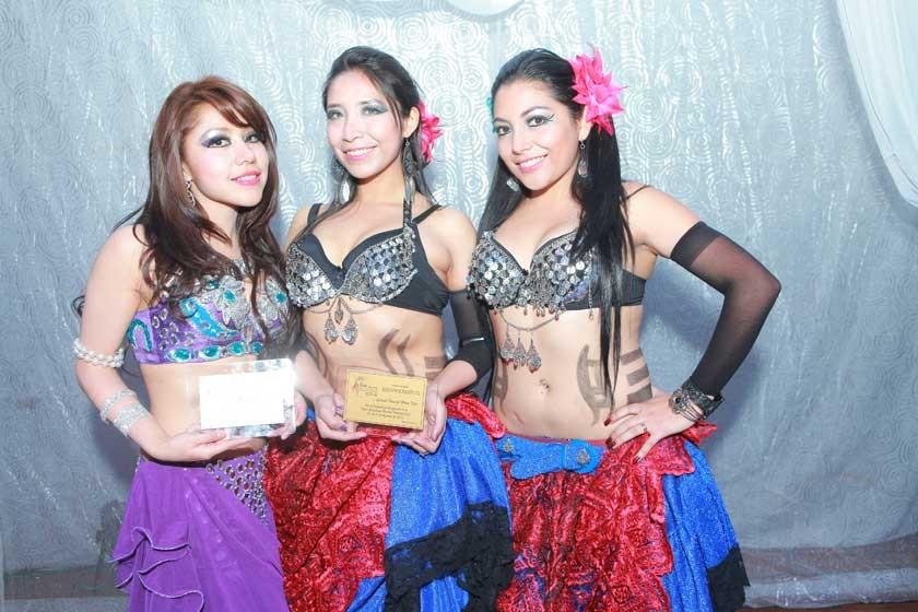 Vanesa Peñaranda (Potosí), Fabiana Eizaguirre y Liliana Guerra (La Paz).
