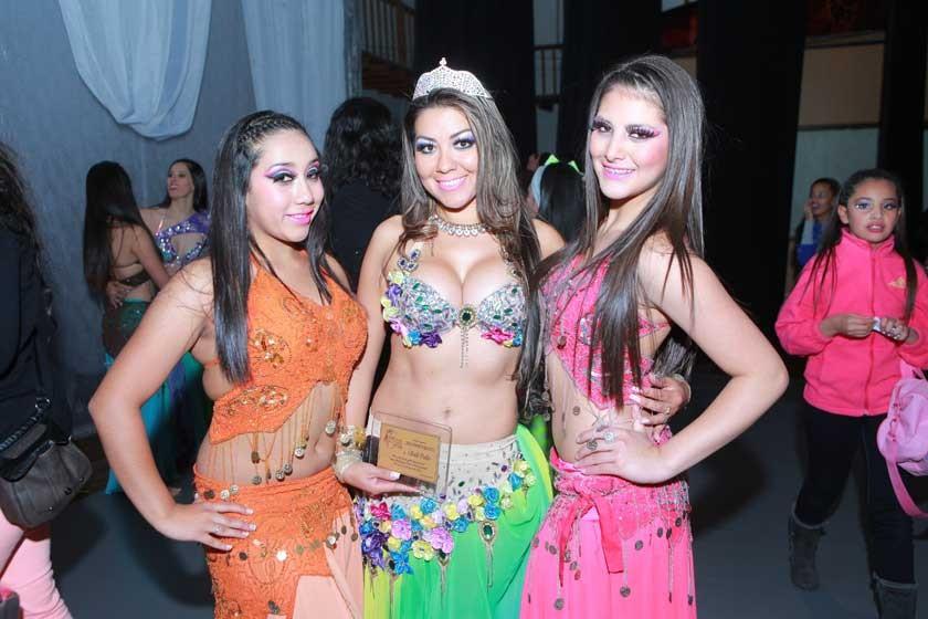 Alejandra Cuenca, Saidi Cuellar (Santa Cruz) y Alejandra Avendaño.