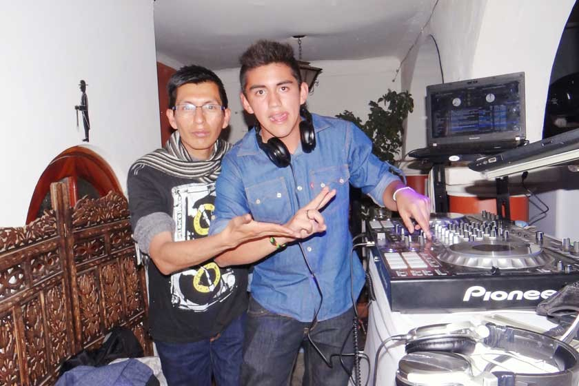DJ Aldo Pro y DJ Freak.