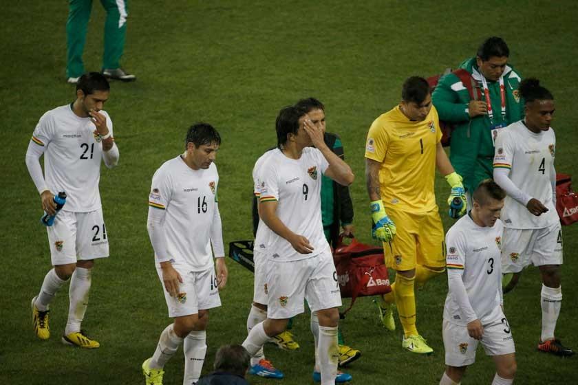 Se acaba la Copa para Bolivia