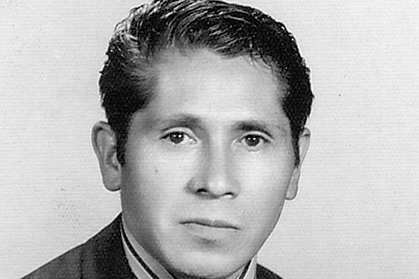 "Iván Gutiérrez Ledezma, fundador de la imprenta ""Bolívar"" en la capital del país."