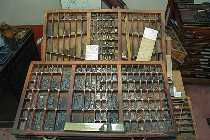 Imprenta Bolívar, la más antigua de Sucre