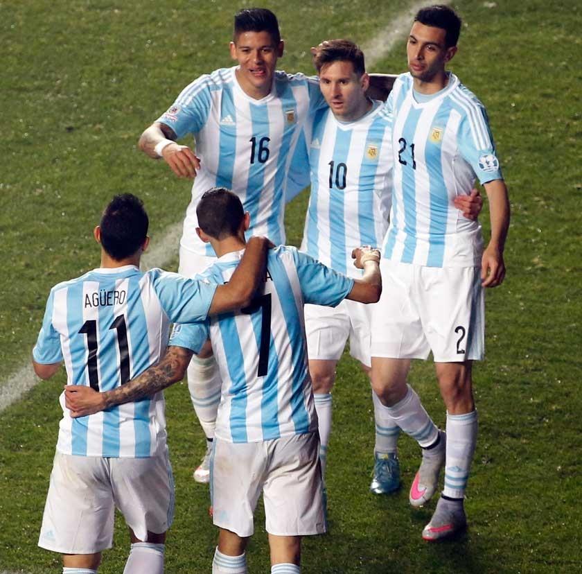 Argentina y Chile, en la final