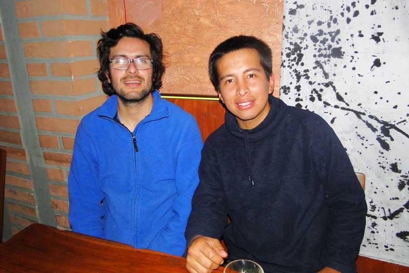 Erik Hurtado y Manuel Ávila.