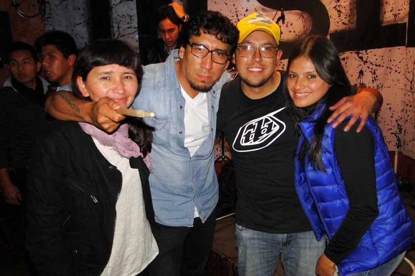 Milena Miranda, Juan Carlos Álvarez, Sergio Lastra y Alejandra de Lastra.