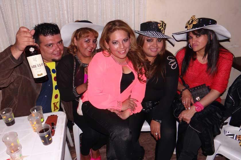 Rodrigo Vilar, Fabiola Uribe, Karen Nava, Mariela Durán y Sandra Flores.