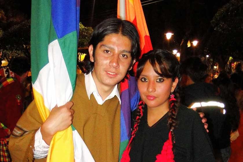 Diego Ortega y Laura Pinto.