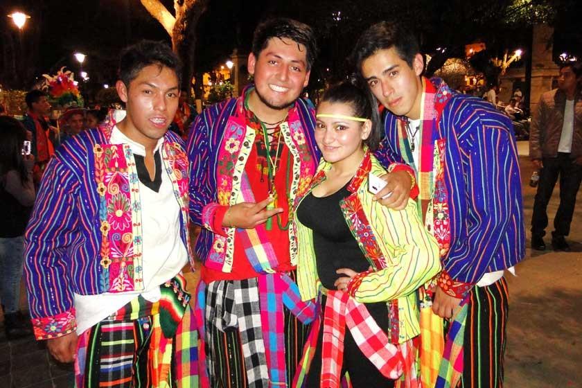 Cristian Sánchez, Fernando Oros, Vanessa Rosas y Mauricio Montoya.