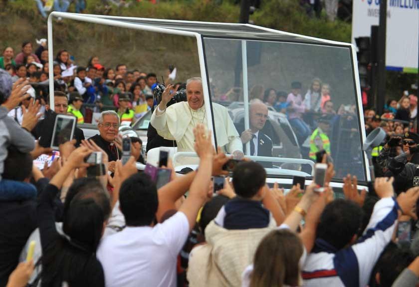 Papa ya está en Sudamérica