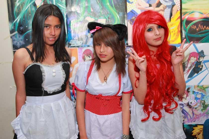 Ilsen Romero, Ashley Ashen y D'jhanira García