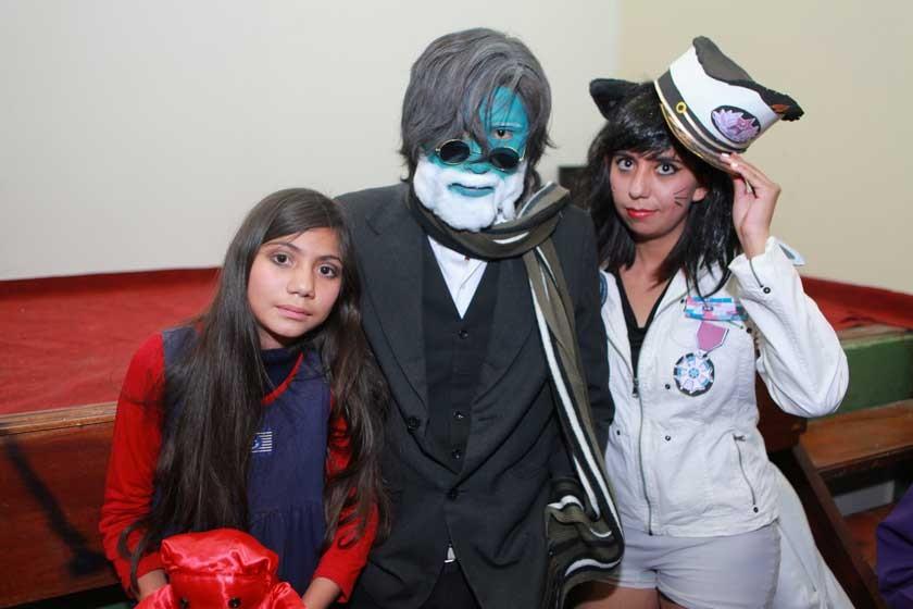 Viviana Sánchez, Fabiana Murillo y Sora Sánchez