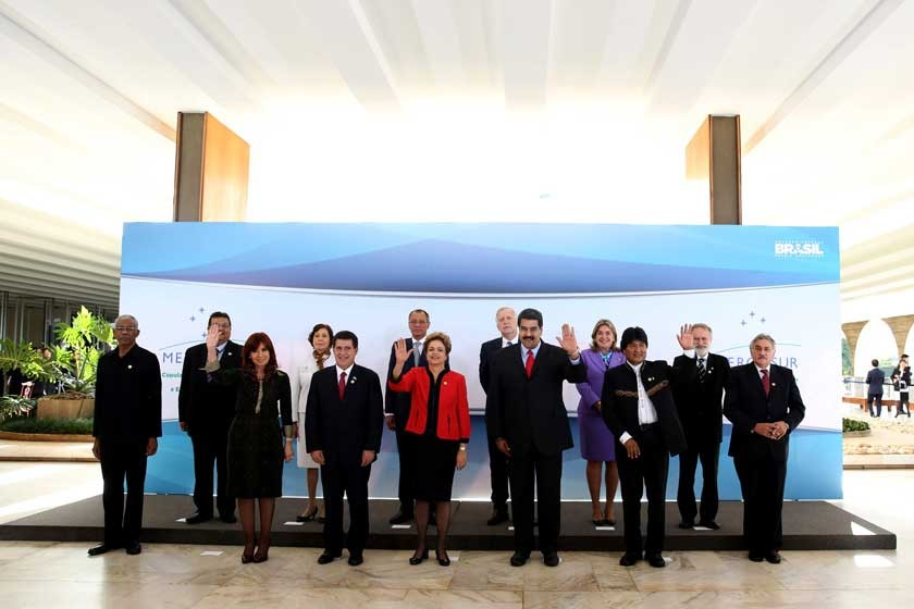 Bolivia se integra plenamente al Mercosur