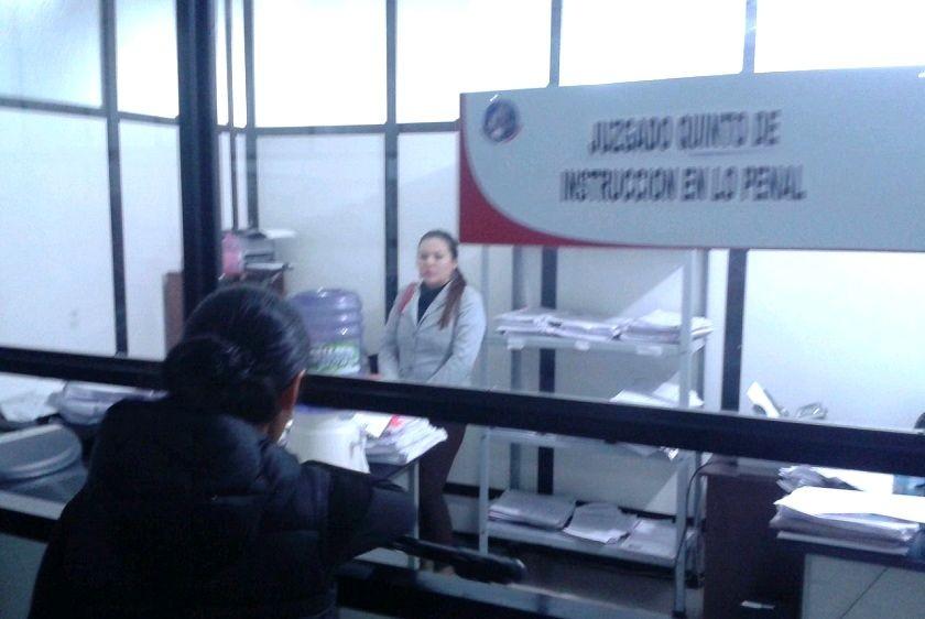 El abogado de Chávez y Lozada recusó al juez Roberto Valdivieso. Foto: José Gutiérrez