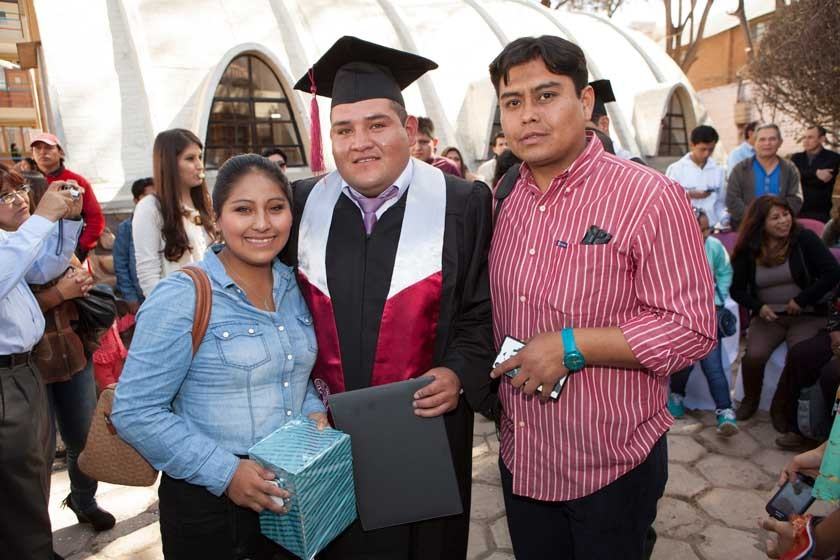 Noelia Carrillo, Jonathan Carrillo y Rodrigo Aguirre.