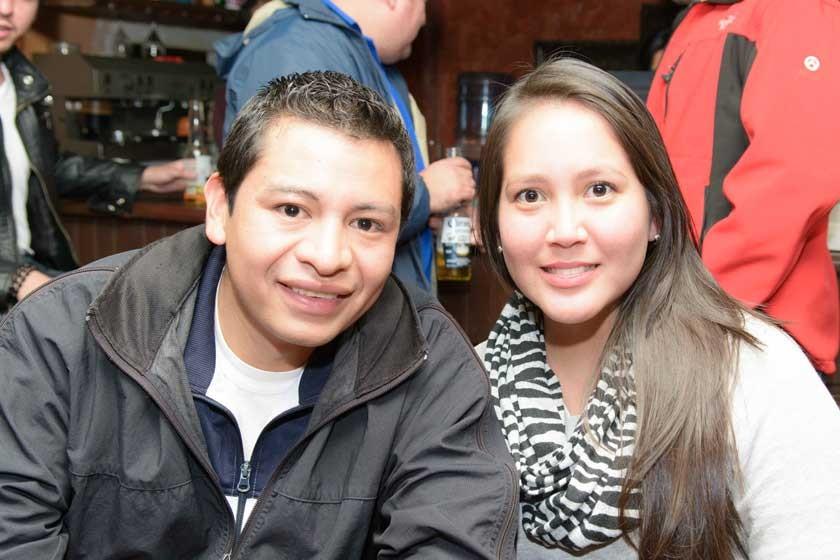 Carlos Dalence y Lizeth Ramírez.