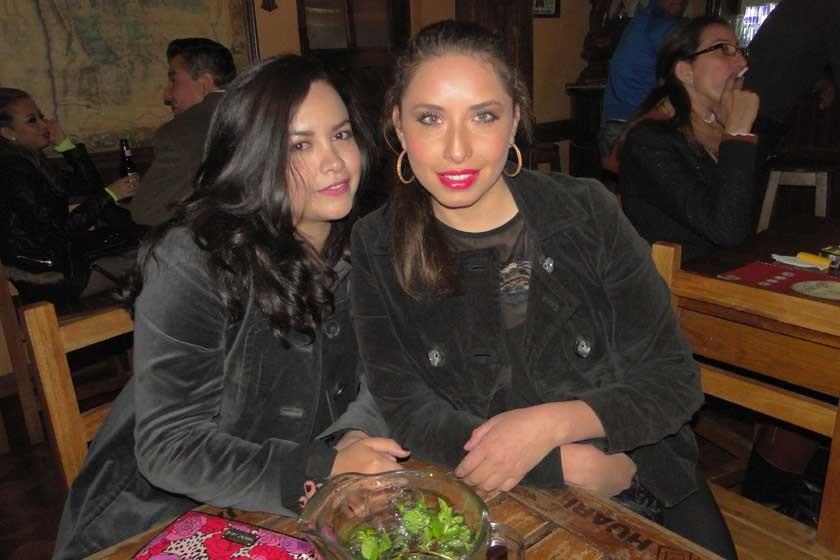 María y Mariela Barja.