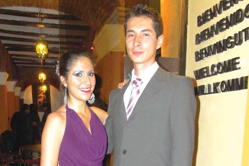 Loretto Loayza y Rodolfo Flores.