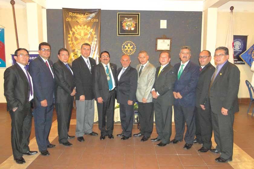 Nuevo Directorio Rotary Club de los Charcas.
