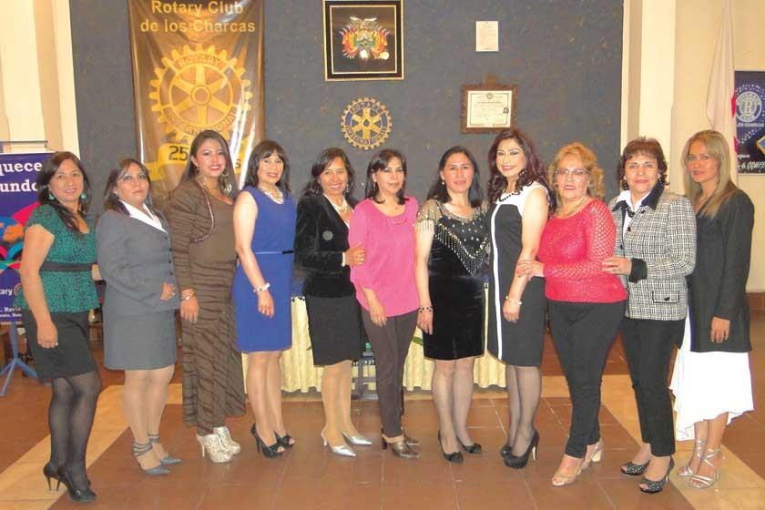 Comité de Damas Rotarias.
