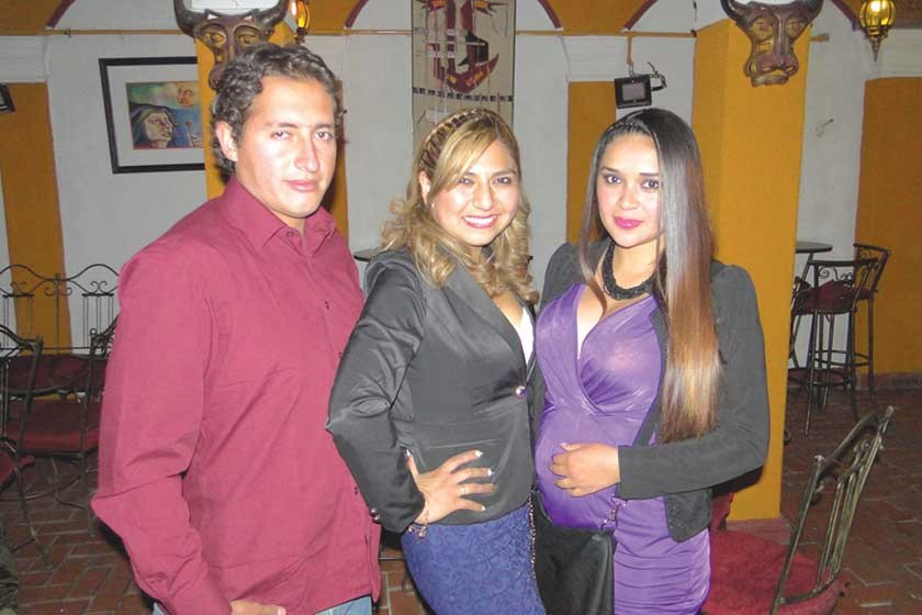 Mauricio Guzmán, Juma Sotez y Jenny Aguilar.